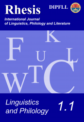 Linguistics and Philology 1.1