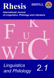 Linguistics and Philology 2.1