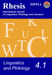 Linguistics and Philology 4.1