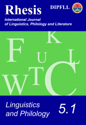 Linguistics and Philology 5.1