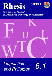 Linguistics and Philology 6.1