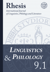 Linguistics and Philology 9.1